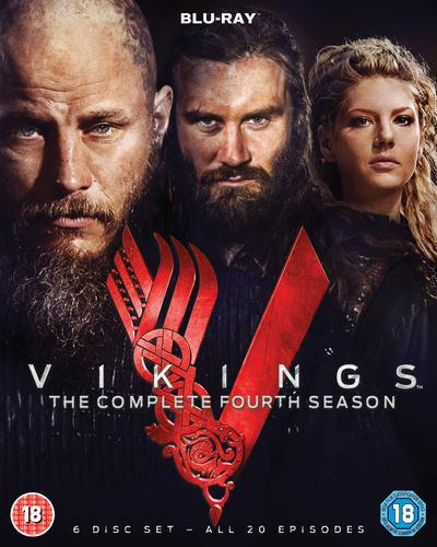 Vikings: The Complete Fourth Season - Michael Hirst [BLU-RAY]