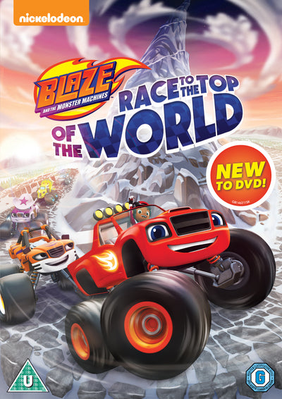 Blaze and the Monster Machines: Race to the Top of the World - Ellen Martin [DVD]