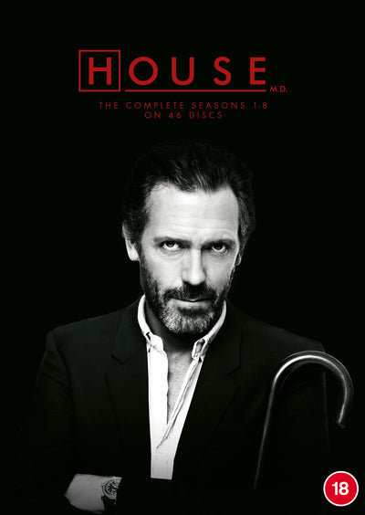 House: The Complete Seasons 1-8 - David Shore [DVD]