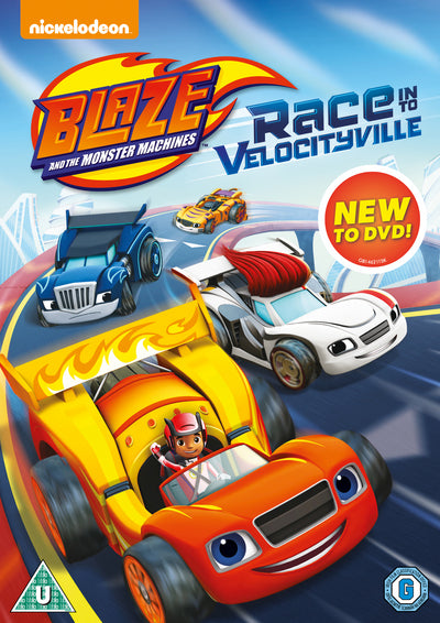 Blaze and the Monster Machines: Race Into Velocityville - Ellen Martin [DVD]