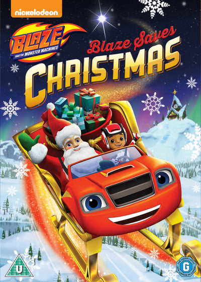 Blaze and the Monster Machines: Blaze Saves Christmas - Ellen Martin [DVD]