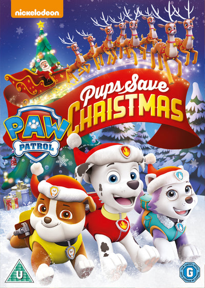 Paw Patrol: Pups Save Christmas - Keith Chapman [DVD]