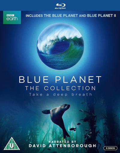 Blue Planet: The Collection - David Attenborough [BLU-RAY]