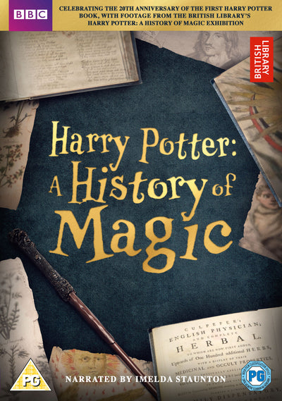 Harry Potter: A History of Magic - Imelda Staunton [DVD]
