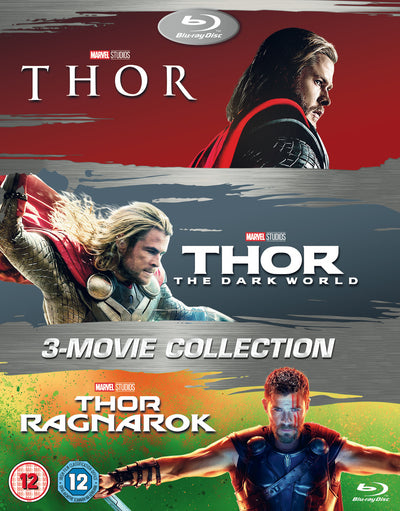 Thor: 3-movie Collection - Kenneth Branagh [BLU-RAY]