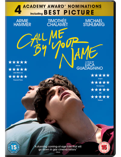 Call Me By Your Name - Luca Guadagnino [DVD]