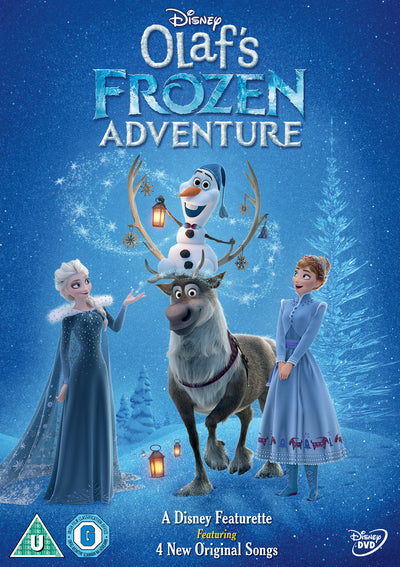 Olaf's Frozen Adventure - Kevin Deters [DVD]