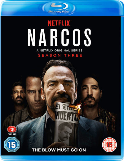 Narcos: The Complete Season Three - Katie O'Connell [BLU-RAY]