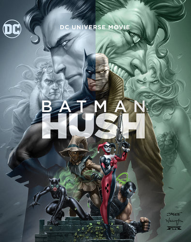 Batman: Hush - Justin Copeland [DVD] OUT 09.06.19 PRE-ORDER NOW