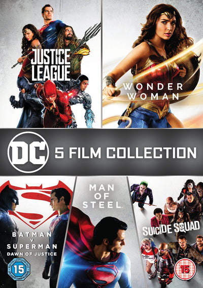 DC 5-film Collection - Zack Snyder [DVD]
