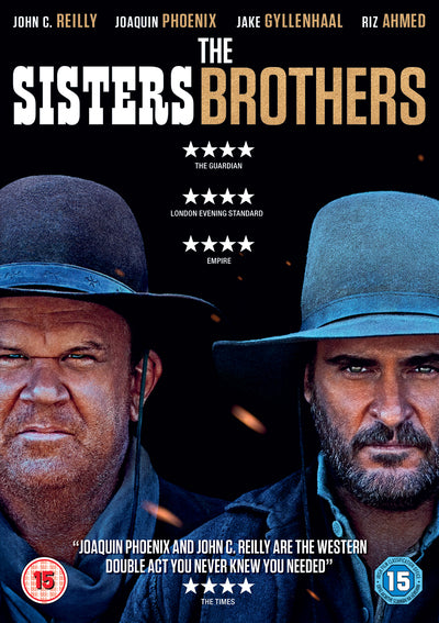 The Sisters Brothers - Jacques Audiard [DVD] OUT 09.08.19 PRE-ORDER NOW