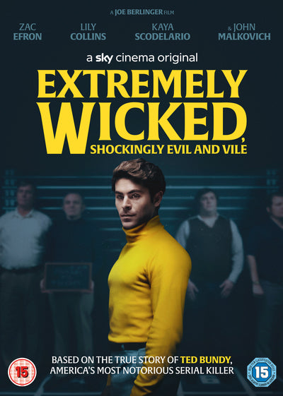 Extremely Wicked, Shockingly Evil and Vile - Joe Berlinger [DVD] PRE-ORDER NOW (DATE TBC)
