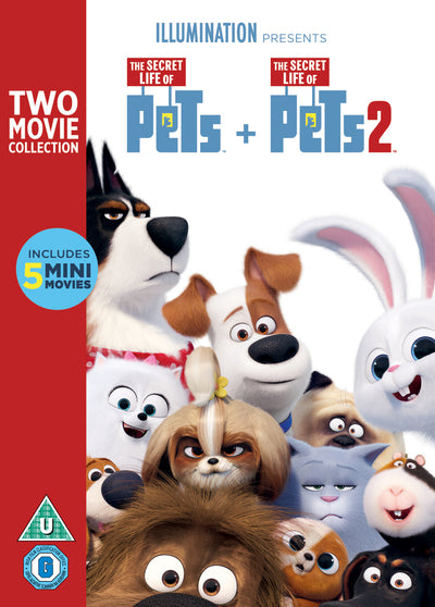 The Secret Life of Pets 1 & 2 - Chris Renaud [DVD]