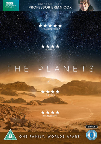 The Planets - Professor Brian Cox [DVD] OUT 28.06.19 PRE-ORDER NOW