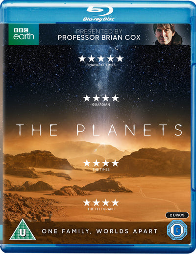 The Planets - Professor Brian Cox [BLU-RAY] OUT 28.06.19 PRE-ORDER NOW