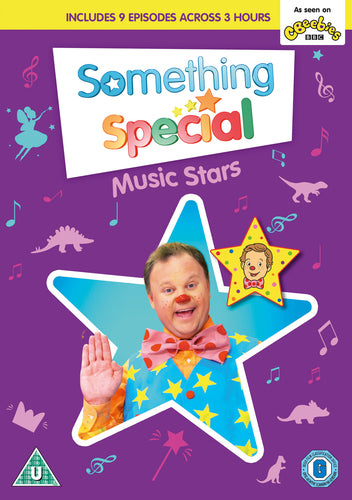 Something Special: Music Stars - Justin Fletcher [DVD] OUT 12.07.19 PRE-ORDER NOW