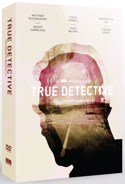 True Detective: The Complete Seasons 1-3 - Nic Pizzolatto [DVD]