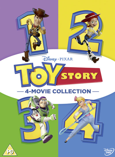 Toy Story: 4-movie Collection - John Lasseter [DVD]