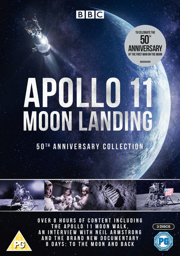 Apollo 11 Moon Landing: 50th Anniversary Collection [2019] [DVD]