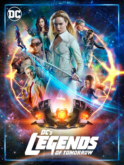 DC's Legends of Tomorrow: Seasons 1-4 [DVD]
