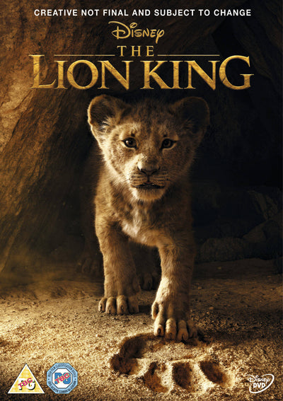 The Lion King 2019 - Jon Favreau [DVD]