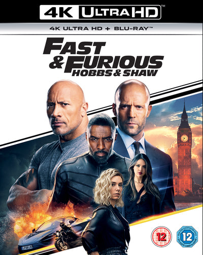Fast and Furious: Hobbs & Shaw - David Leitch [4K UHD]