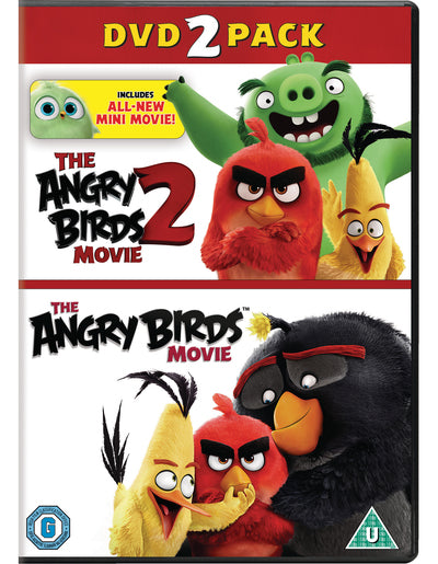 The Angry Birds Movie 1&2 - Clay Kaytis [DVD] OUT 29.11.19 PRE-ORDER NOW