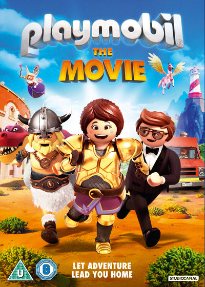 Playmobil - The Movie - Lino DiSalvo [DVD] OUT 22.11.19 PRE-ORDER NOW