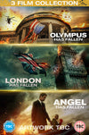 Olympus + London + Angel Has Fallen Triple Film Collection [DVD] OUT 13.12.19 PRE-ORDER NOW