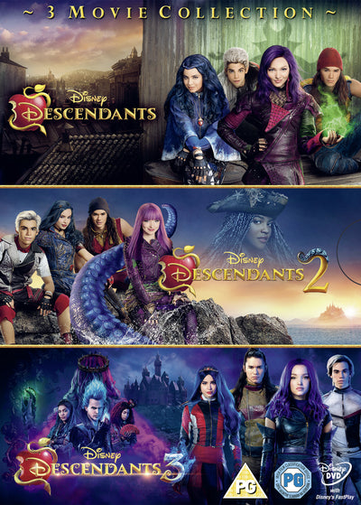 Descendants: 3-movie Collection - Kenny Ortega [DVD]