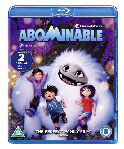 Abominable - Jill Culton [BLU-RAY] PRE-ORDER NOW (DATE TBC)