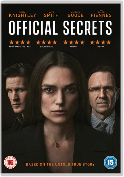 Official Secrets - Gavin Hood [DVD] OUT 21.02.20