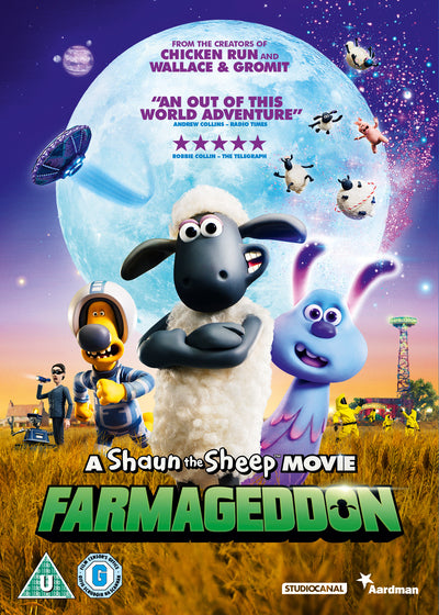 A Shaun the Sheep Movie - Farmageddon - Will Becher [DVD]