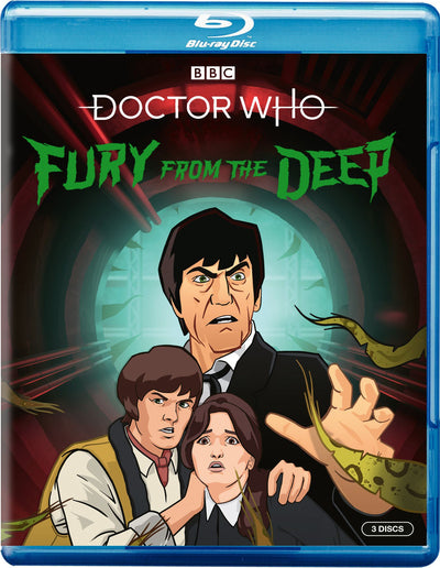 Doctor Who: Fury from the Deep - Victor Pemberton [BLU-RAY] - Golden Discs