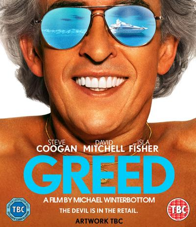 Greed - Michael Winterbottom [BLU-RAY] (Due out 26.06.20)
