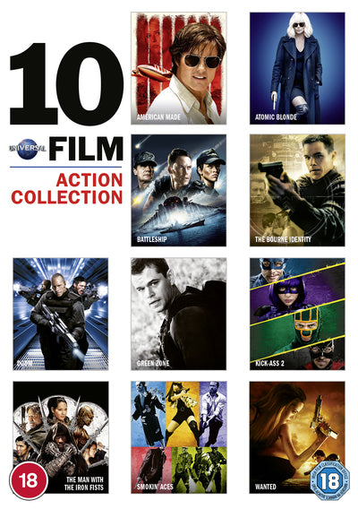 10 Film Action Collection - Doug Liman [DVD]