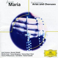 Ave Maria - Religious Arias and Choruses -  [CD]