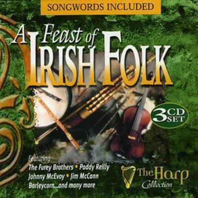 A Feast of Irish Folk - Various Artists [CD]