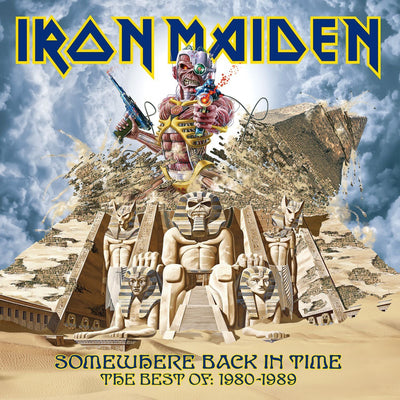 Somewhere Back in Time: The Best Of: 1980-1989 - Iron Maiden [CD]