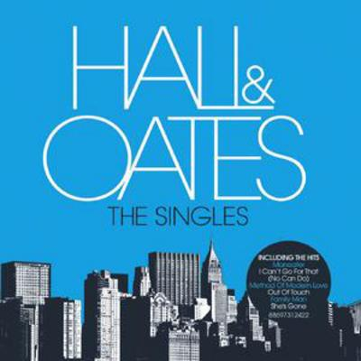 The Singles - Hall & Oates [CD]