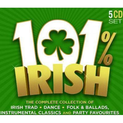 101% Irish - Various Artists [CD]