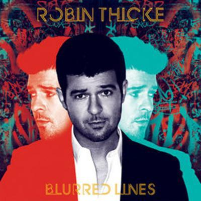 Blurred Lines - Robin Thicke [CD]