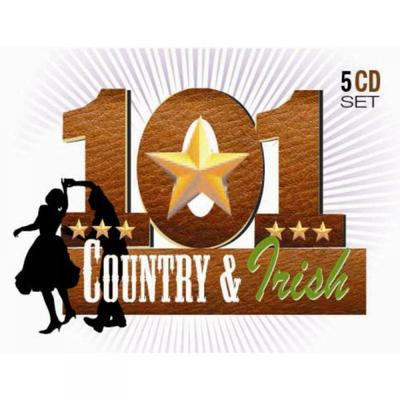 101 Country & Irish - Various Artists [CD]