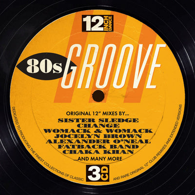 12 Inch Dance: 80s Groove - Various Artists [CD]