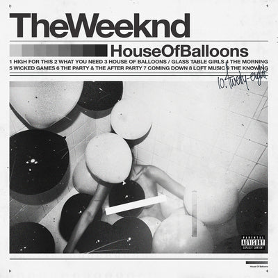 House of Balloons - The Weeknd [VINYL]