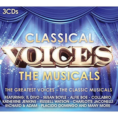 Classical Voices: The Musicals - Various Artists [CD]