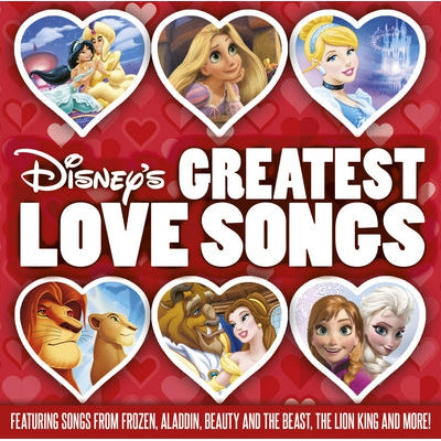 Disney's Greatest Love Songs - Various Artists [CD]