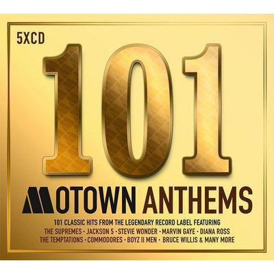 101 Motown Anthems - Various Artists [CD]