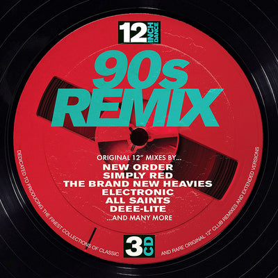 12 Inch Dance: 90s Remix - Various Artists [CD]