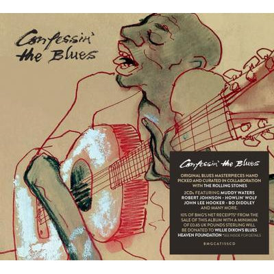 Confessin' the Blues:   - Various Artists [CD]